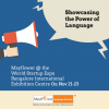 Visit Mayflower Language Services at the World Startup Expo – Booth 035
